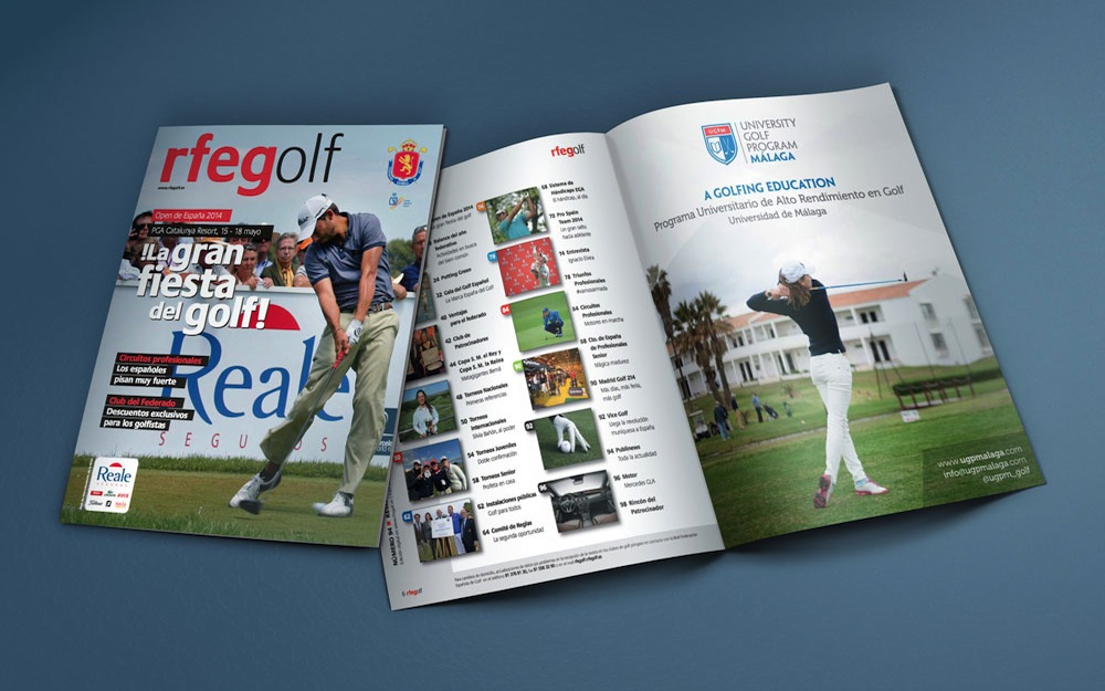 UGPM in the number 94 of the Official Journal of the Spanish Golf Federation