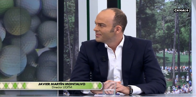 UGPM joins Canal+ Golf debate about Spanish College Golf (Casa Club 04/03/2015)