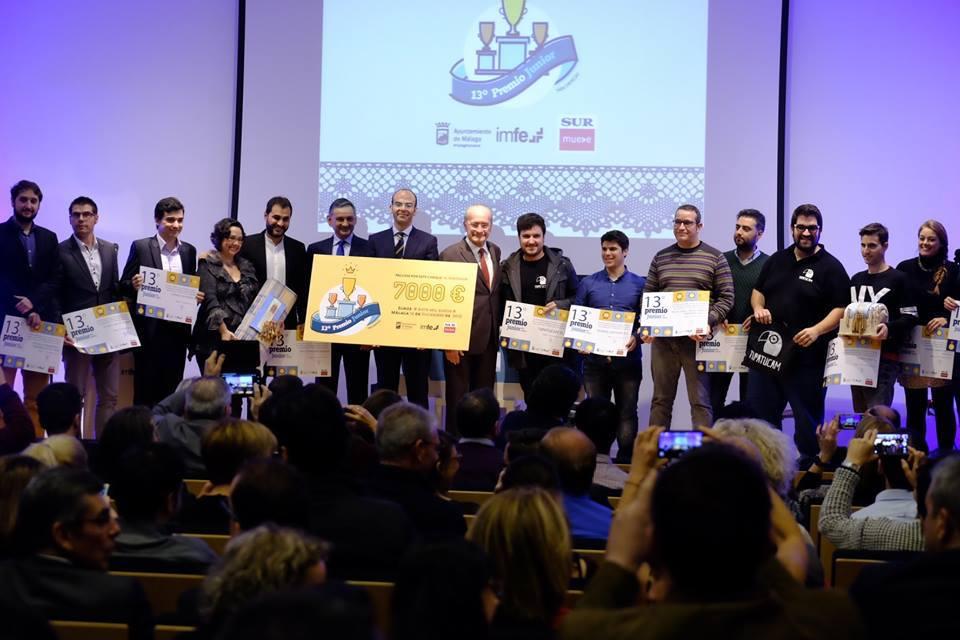 UGPM gana la 13º Edición del Premio Junior a la Mejor Iniciativa Emprendedora de Málaga 2015
