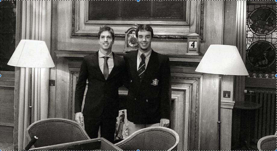 Victor Pastor y Andrea Gobbato participan en el R&A Scholars Tournament (St. Andrews, Old y Eden Courses)