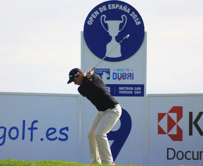 Víctor Pastor amazing on the European Tour – Spanish Open
