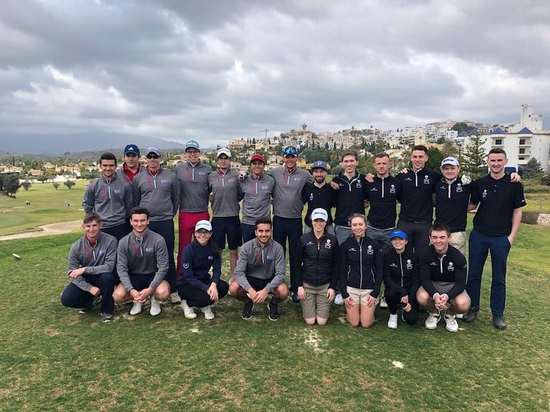 MATCH PLAY: University Golf Program Malaga victory against University College Cork